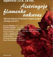 aistringojo flamenko vakaras