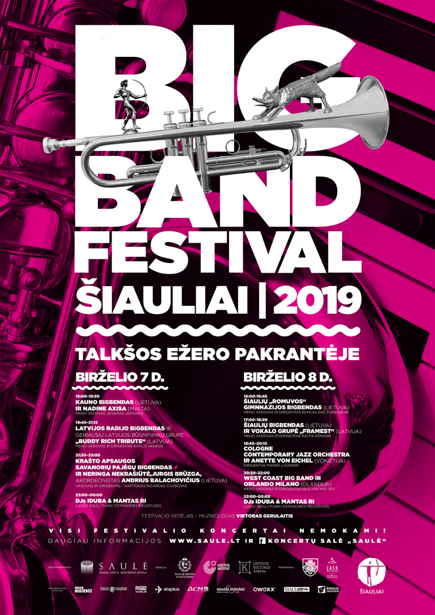 Sand And Soul Festival 2020.Big Band Festival Siauliai 2019 Talksos Ezero Pakrantė